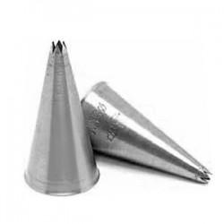 Насадка конд. «6-конечная звезда»[2шт]; сталь нерж.; D=18мм