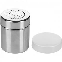 Емкость кухон. для сыпуч. продук.; нержавеющая сталь, 340мл; D=12, H=14см;