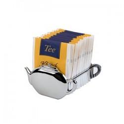 Подставка для пакетиков чая; металл; H=50, L=85, B=85мм;