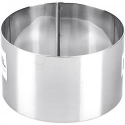 Кондитерское кольцо, нерж.сталь  D=10, H=6см