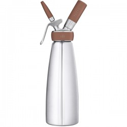 Сифон для нитро коктейлей; нержавеющая сталь, 1л;