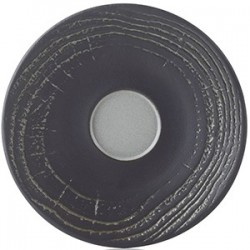 Блюдце для стакана 80мл «Арборесценс»; D=14см; серый