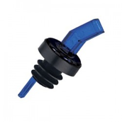 Гейзер с ситом; пластик, резина; D=1, H=8см; синий