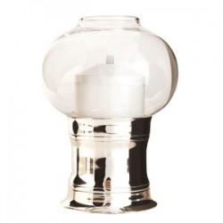 Светильник масляный «Студио»; сталь, стекло; D=11, 8, H=16см; ,