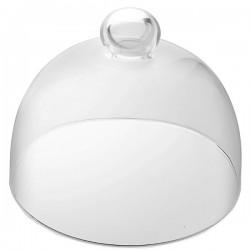 Крышка для тортовницы «Сан Марко»; стекло; D=16, H=14см;