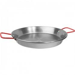 Сковорода для паэльи; голубая сталь; D=30, H=4см