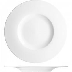 Блюдо «С-Класс»; фарфор; D=295, H=30мм; белый