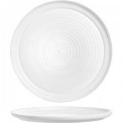 Блюдо д/пиццы «Интэнсити»; зеникс; D=320, H=15мм; белый