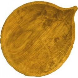Блюдо «Осина» светлый дуб; H=30, L=250, B=205мм