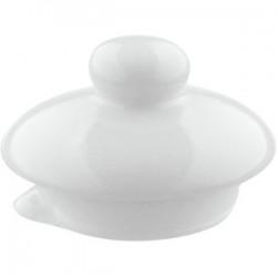 Крышка д/чайника «Проотель»; фарфор; 260мл; D=5см; белый