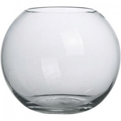 Ваза-шар; стекло; 3л; D=18, H=17см;