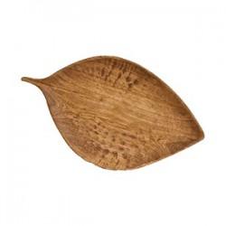 Блюдо «Береза» дуб, махагон; H=3, L=53, B=31см