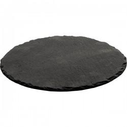 Блюдо сланцевое  D=350, H=5мм
