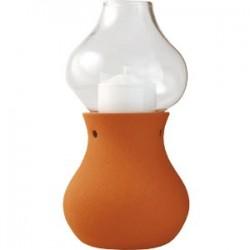 Светильник «Аладин»; стекло; D=10, 2, H=18, 8см; коричнев.,