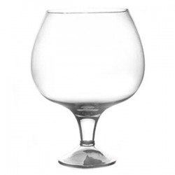 Ваза-бокал; стекло; 3, 5л; D=14, H=23, 5см;