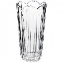 Ваза для цветов «Королла»; стекло; D=12, H=23см;
