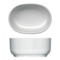 Емкость для пакетиков сахара «Карат»; фарфор; H=45, L=100, B=70мм; белый