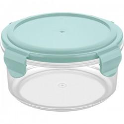 Контейнер для холодильника и микров. печи; полипроп.; 0, 55л; голуб.