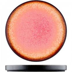 Тарелка «Агат»; фарфор; D=25см; красный