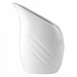 Кувшин «Органикс»; фарфор; 200мл; H=120, L=85мм; белый