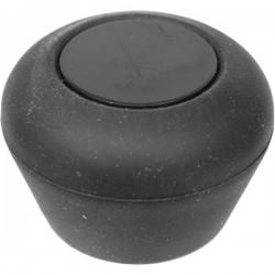 Пробка для шампанского; силикон; D=27, H=30мм; черный