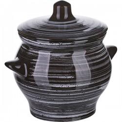 Горшок для запекания «Маренго»; керамика; 0, 65л; D=12см