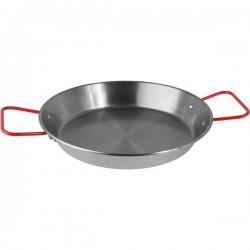Сковорода для паэльи; голубая сталь; D=240, H=90, L=345, B=245мм