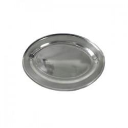 Блюдо овальное «Prohotel»; нержавеющая сталь, H=28, L=600, B=430мм;