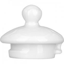 Крышка д/чайника 4335 «Моцарт»; фарфор; белый