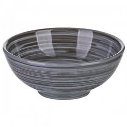 Салатник «Пинки»; керамика; 400мл; D=135, H=55мм; серый