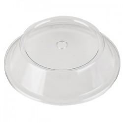 Крышка  для тарелки; поликарбонат; D=260, H=67мм; прозр.