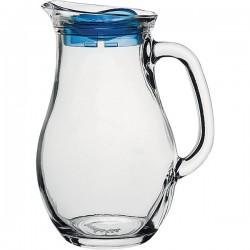 Кувшин «Бистро» с крышкой; стекло; 2л; H=22, L=15, 9см; прозр.