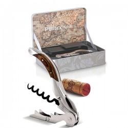 Набор нарзанник+чехол в подароч. уп-ке «Толедо»; сталь, дерево; H=35, L=180, B=120мм; , коричнев
