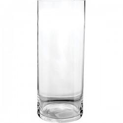 Ваза для цветов «Цилиндр»; стекло; D=12, H=32, 5см;