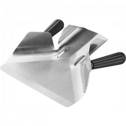 Совок для картофеля фри с 2мя ручками; сталь нерж., пластик; L=23, B=20см;