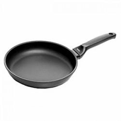 Сковорода (индукция); литой алюминий, тефлон; D=280, H=58, L=490мм; черный