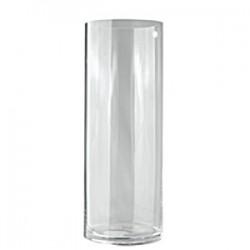 Ваза для цветов «Цилиндр»; стекло; D=12, H=20см;