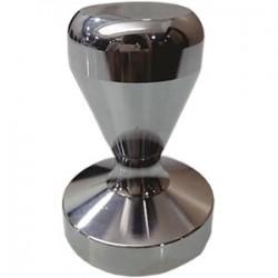 Темпер для кофе; сталь нерж., хромирован.; D=56, H=80мм
