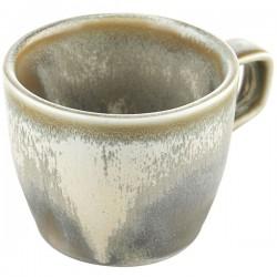 Чашка кофейная «Агава»; фарфор; 225мл; D=7, H=11см; матовый, зелен.