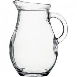 Кувшин «Бистро»; стекло; 0, 5л; D=10, H=15, 8, L=10, 8см; прозр.