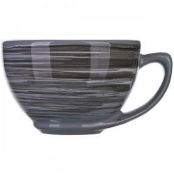 Чашка чайная «Пинки»; керамика; 250мл; серый