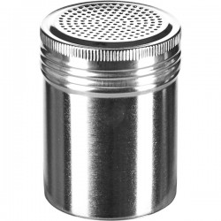 Емкость для сахарной пудры; нержавеющая сталь, D=7, H=12см;