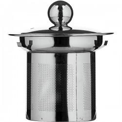 Фильтр д/чайника 0. 4л «Проотель»; термост.стекло, сталь нерж.; D=85мм