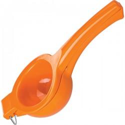 Сквизер для апельсина; алюмин.; D=9, L=23см; оранжев.