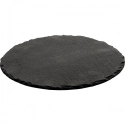Блюдо сланцевое  D=300, H=5мм