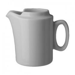 Молочник «Прага»; фарфор; 210мл; H=95, L=120, B=70мм; белый