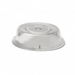 Крышка для тарелки; поликарбонат; D=32, H=7см;