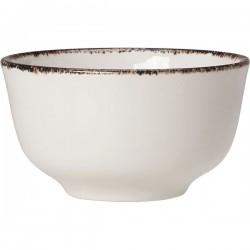 Сахарница «Браун дэппл»; фарфор; 227мл; белый, коричнев.