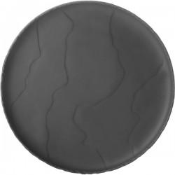 Тарелка « Basalt»; D=21см; черный