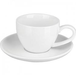 Пара кофейная «Кунстверк»; фарфор; 90мл; белый